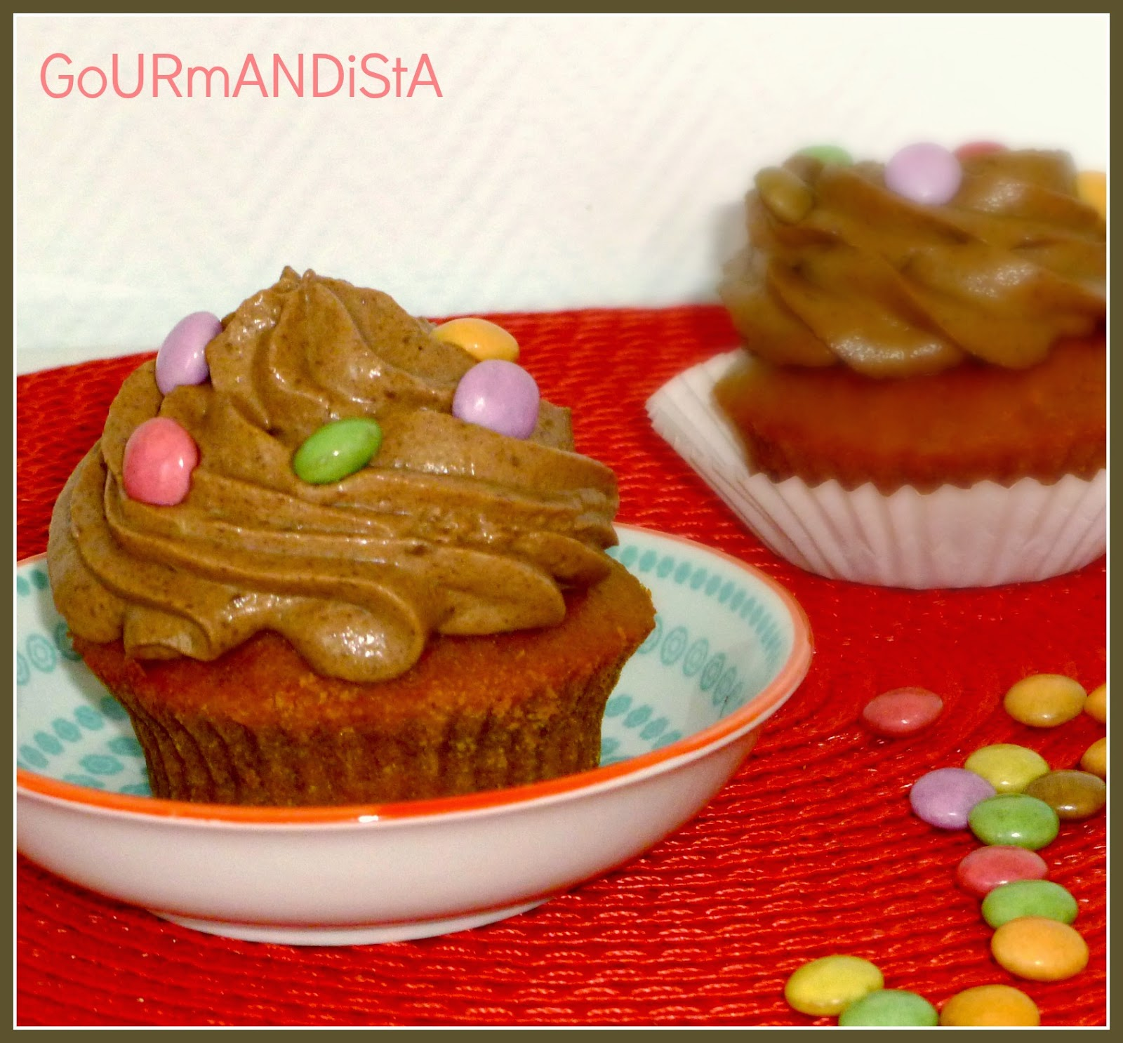 image Cupcakes-potiron-ganache-montée-chocolat