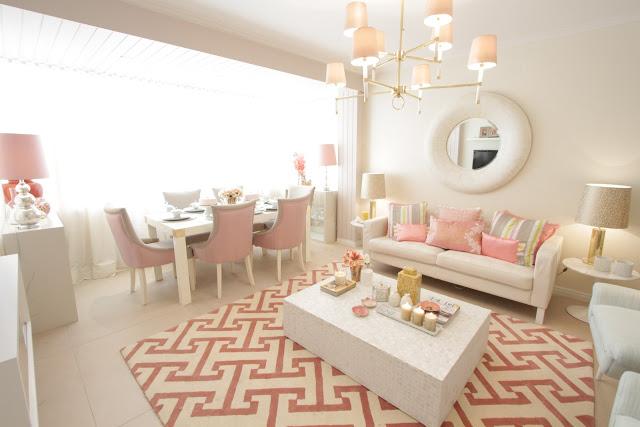 Sala De Estar Cor De Rosa ~ Antes e depois na decoração  Jeito de Casa  Blog de Decoração