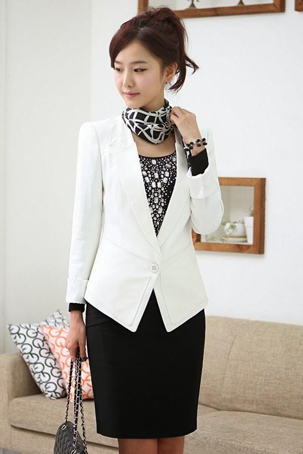 Model Jas dan Blazer Wanita Untuk Kerja Terbaru 2014
