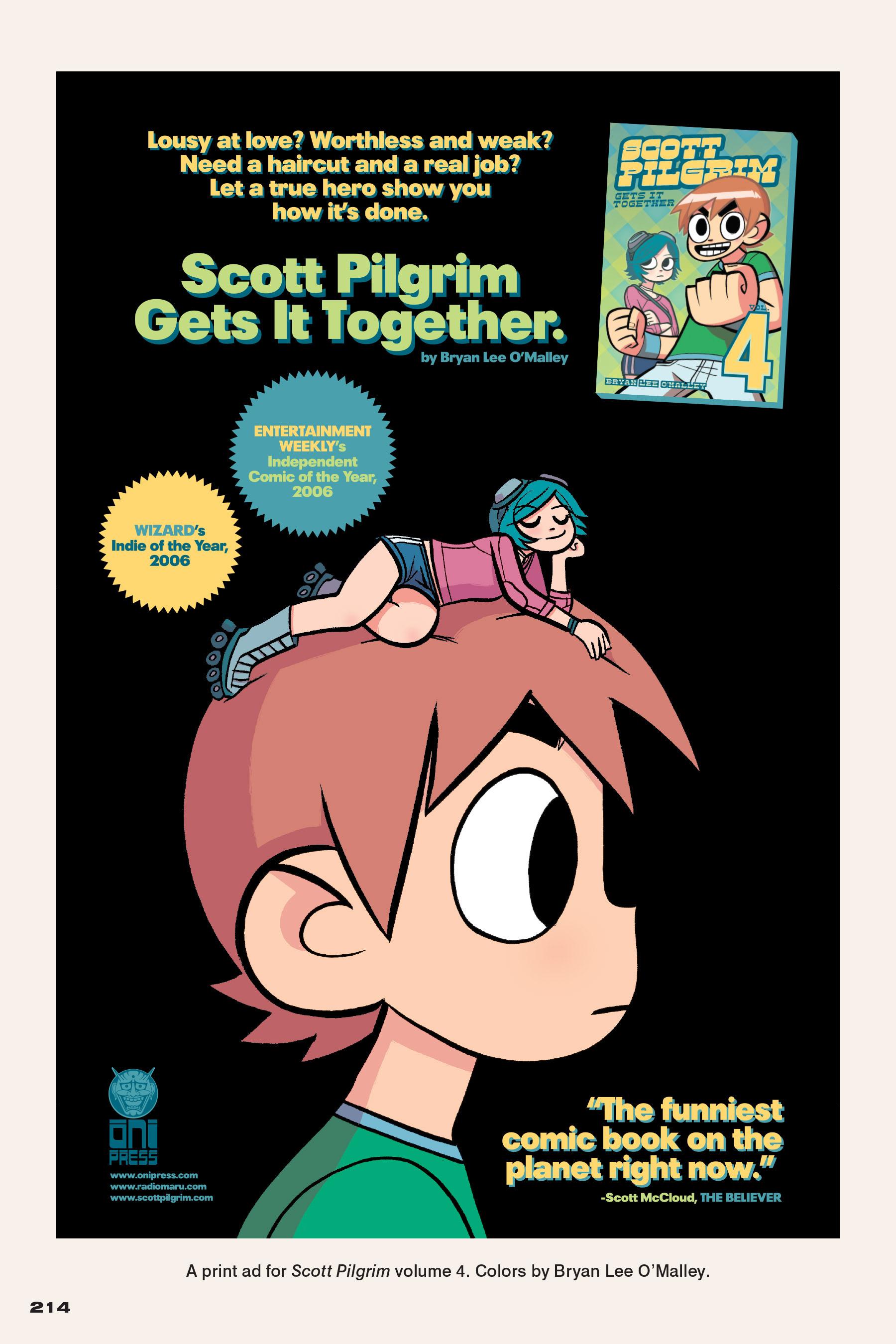 Read online Scott Pilgrim comic -  Issue #4 - 209