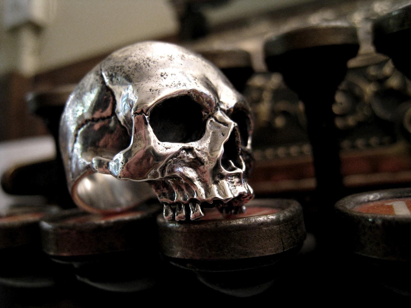 Crazy Pig Designs New Skull Ring Classic At Crazy Pig Design