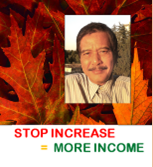 "Book 1: ""Stop Increase=More Income"" by FJ Tunker"