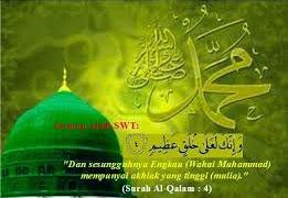 Ciri ciri Dan Sifat Mulia Rasulullah S a w