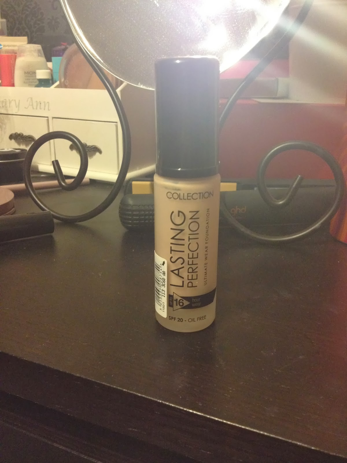 Collection Cosmetics Lasting Perfection Ivory 2 Foundation