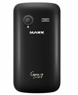 Maxx GenX Droid 7 (2 MP Rear Camera)