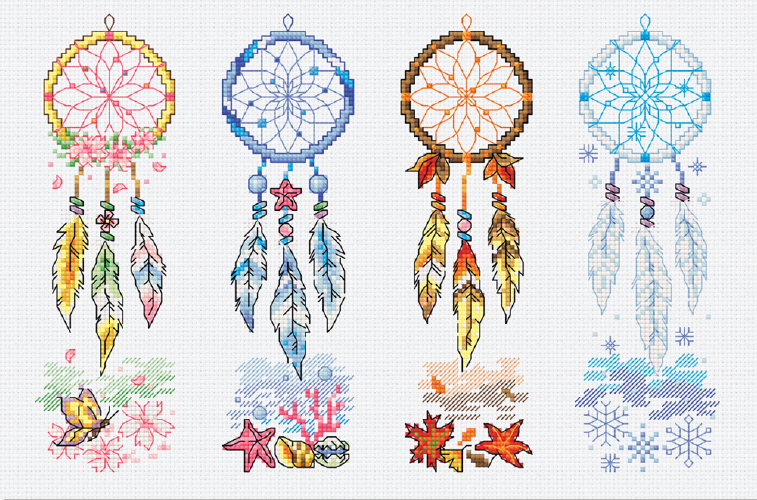Four Seasons Dreamcatcher