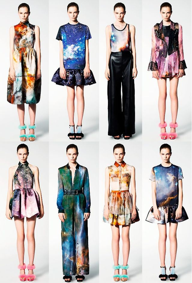 Threadbare diy galaxy dress or the art of persistence for Cosmic pattern clothing