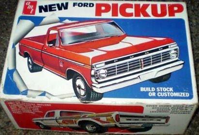 Ford Pickup Model Kits
