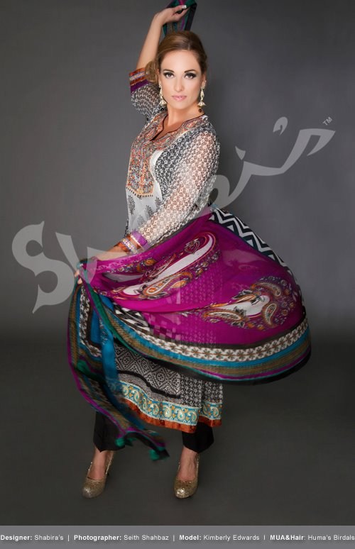 Shabi's Fashion Party Wear Collection 2012