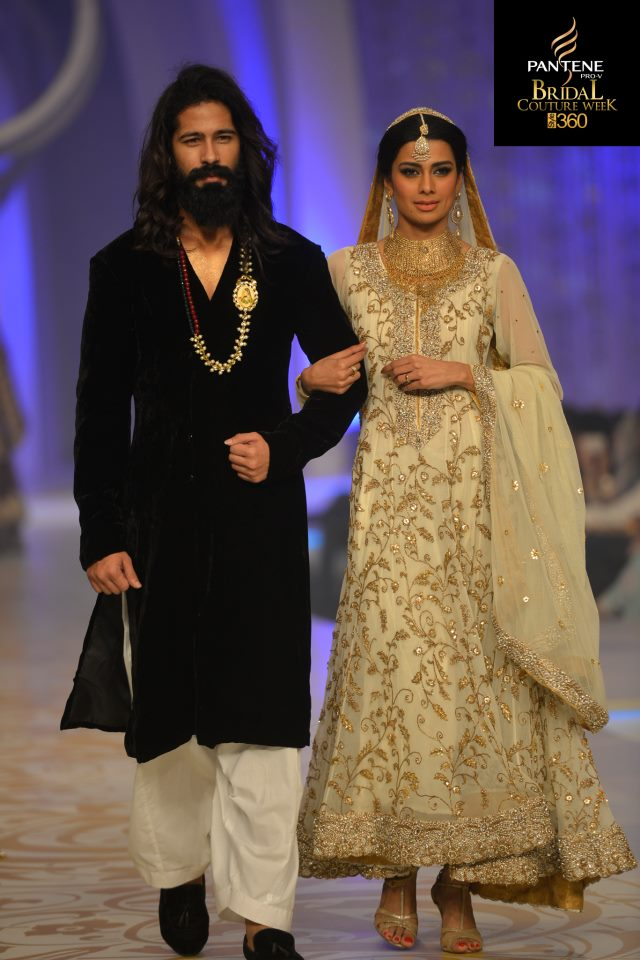 Teena By Hina Butt, Pantene Bridal Couture Week 2013, Pakistani Models, Feeha