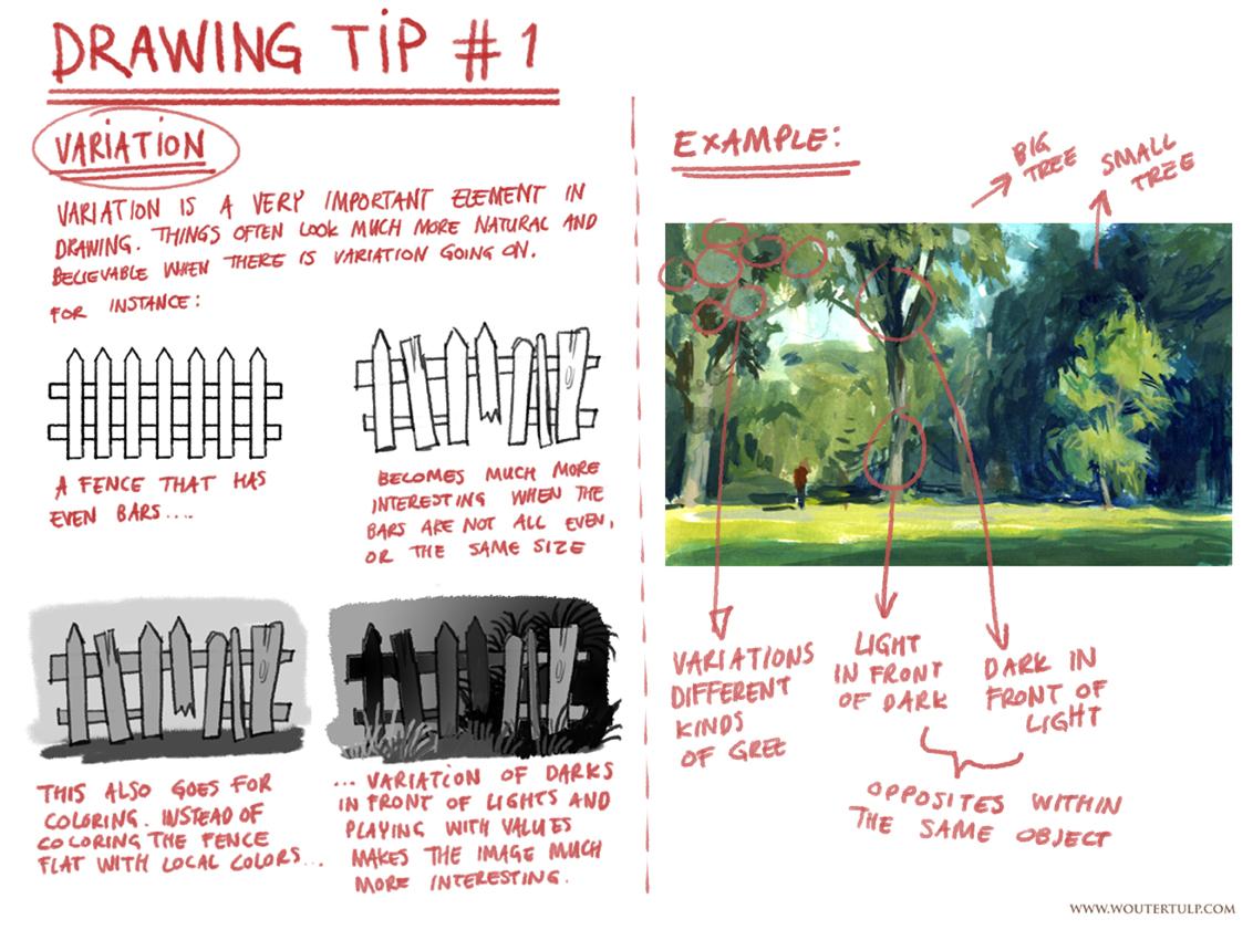 Drawing tip #1