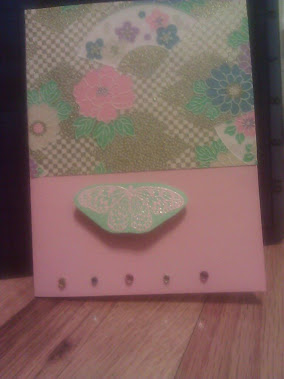 2nd card I made on my own