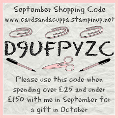 Hostess Code for your September Stampin' Up! Shopping
