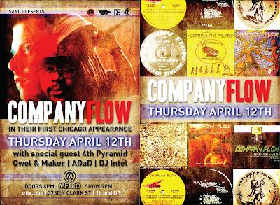 COMPANY FLOW Chicago Show 4/12/12