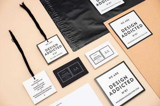 40 cool clothing labels and hang tag designs jayce o yesta With clothing label design ideas
