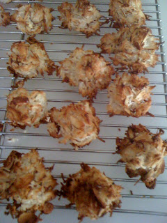 Style Athletics Paleo Coconut Macaroon Cookies