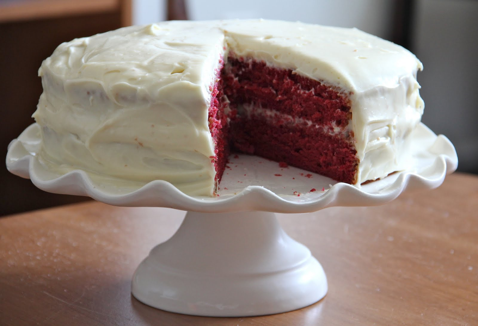 Red Velvet Cake For My 30 Year Old Hubby