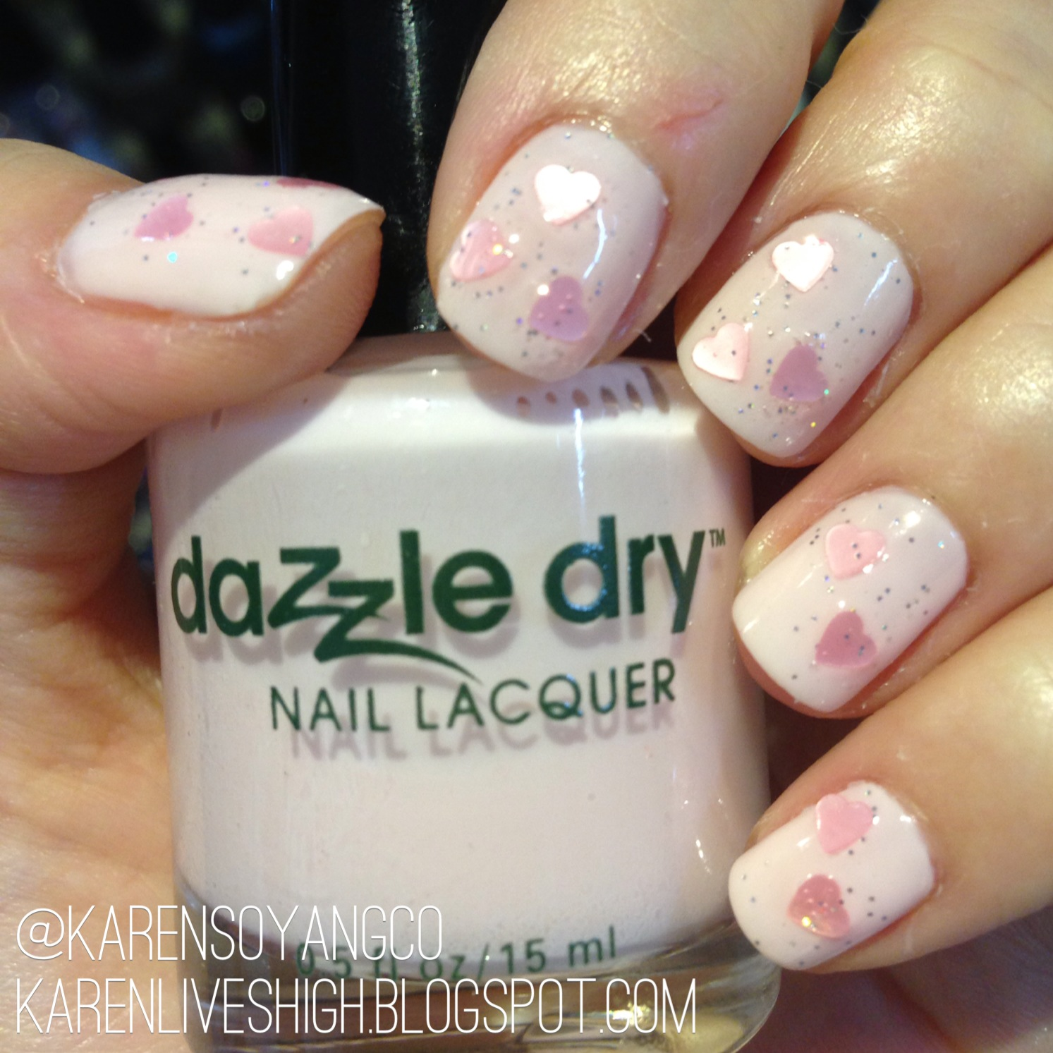 Karen Lives High: Valentine\'s Day Nail Art