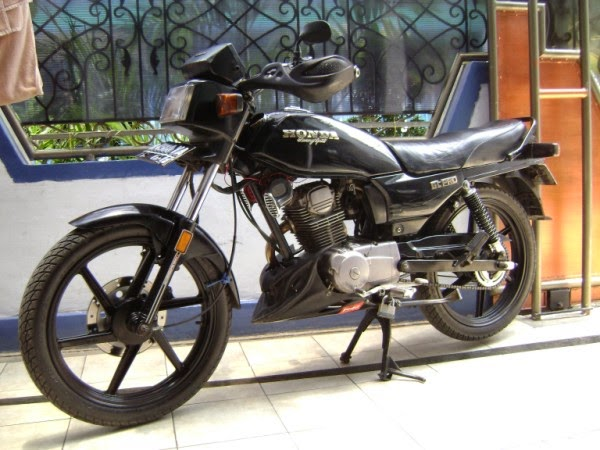 foto modifikasi motor honda gl pro