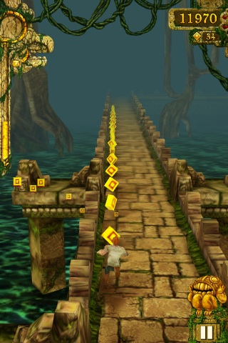 how to resurrect after dying in temple run 1