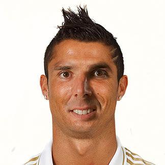 Montaje entre Marchena y Ronaldo