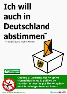 Yo también quiero votar en Alemania