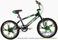 Sepeda BMX Pacific Brosway Mag Wheel 20 Inci