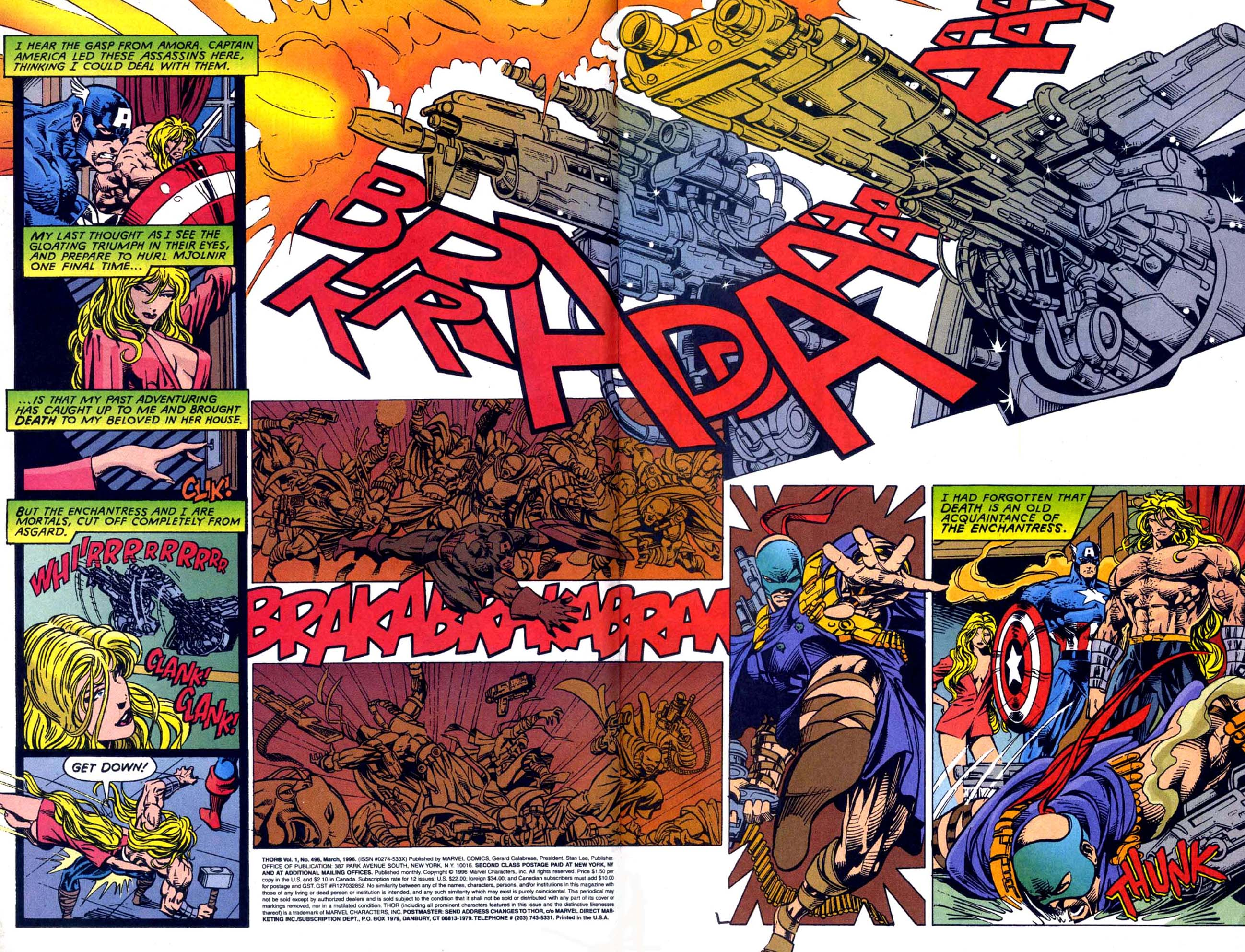 Captain America (1968) Issue #449b #404 - English 3