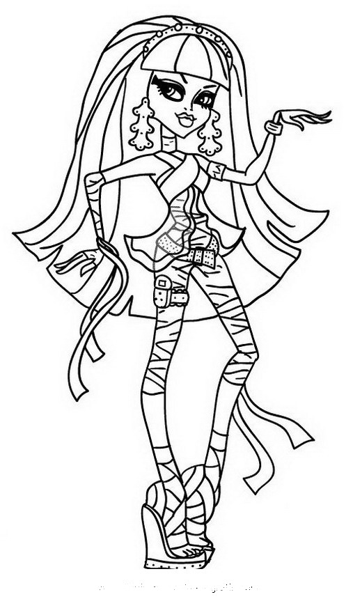 Mi Mundo Monster High abril 2012