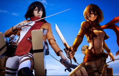 Perfect Mikasa Ackerman Cosplay 08