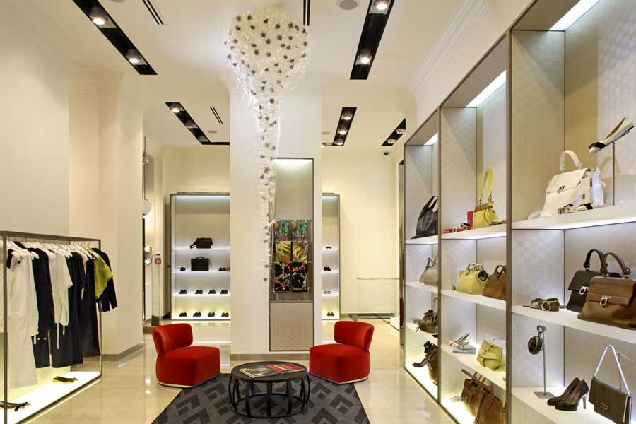 Mititique boutique beautiful modern boutique interior design for Interior designs of boutique shops