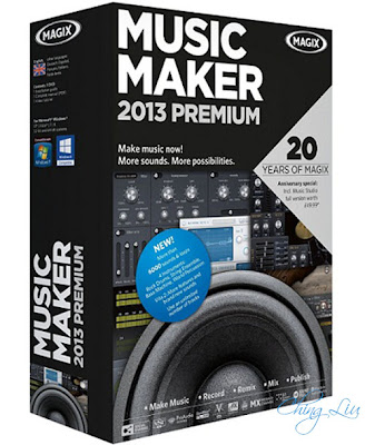 MAGIX Music Maker 2013 Premium 19.1.0.36 With Crack Free Download