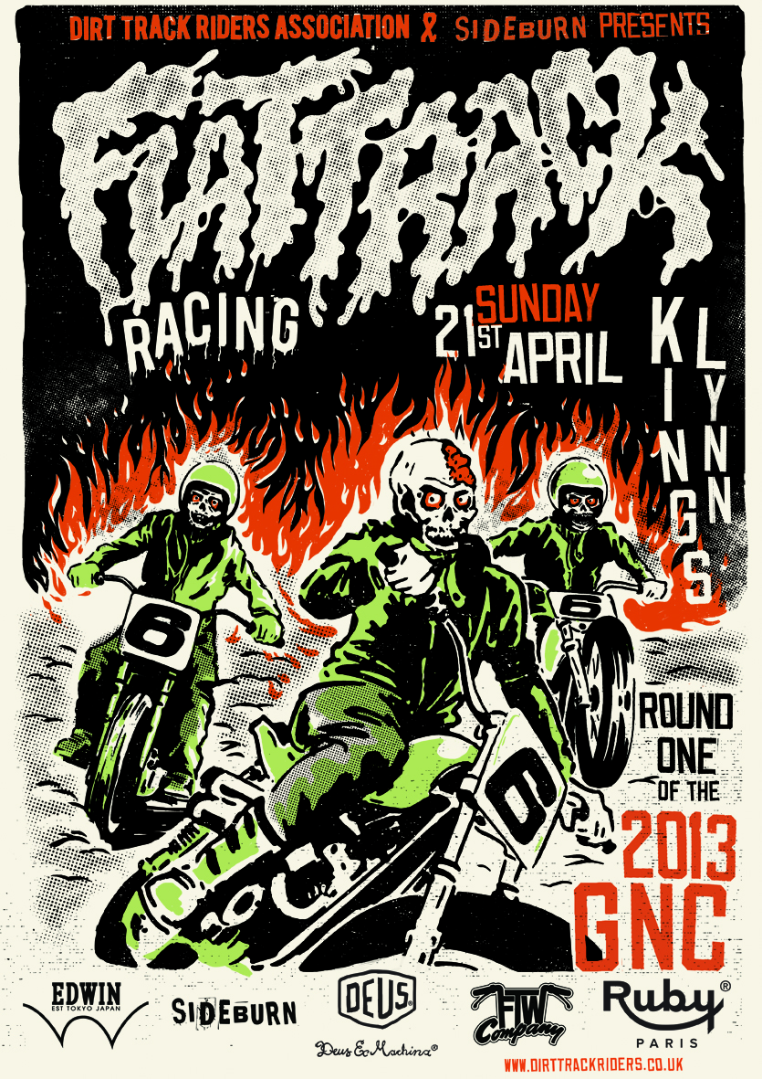 Dirt Track Riders Association 2013 GNC Round 1 in Norfolk. title=