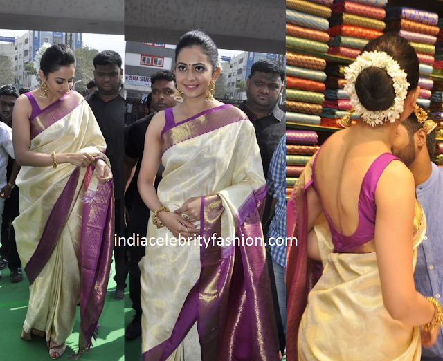 Rakul Preet in Traditional Saree