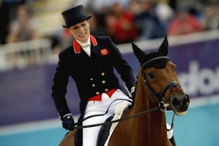 Zara Phillips Olympics 2012