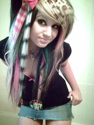 female emo hairstyles. Teenage Girls Hairstyles