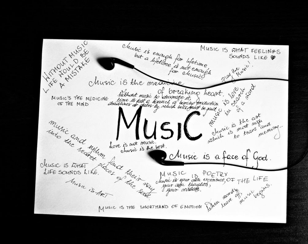 Quotes About Love Of Music : Music Quotes - Motivational Pictures