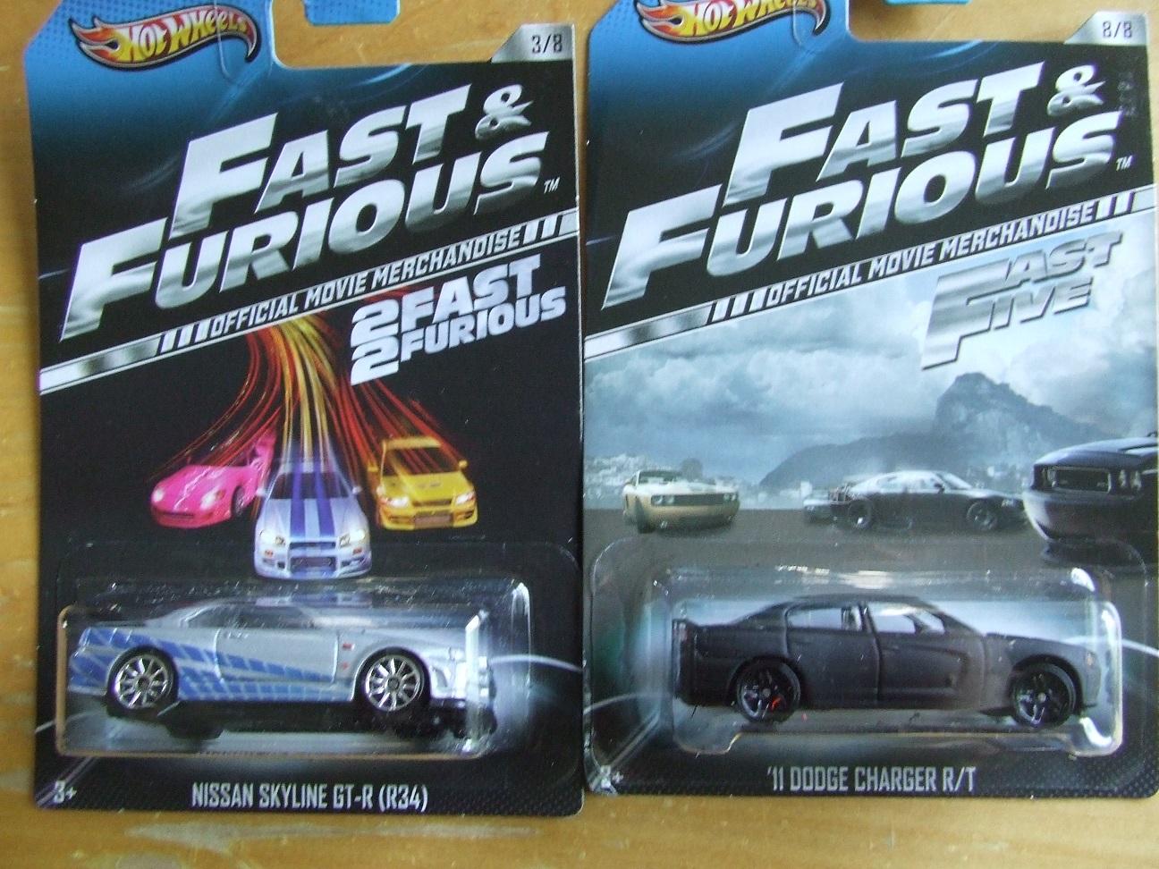 Matts4LittleWheels: Hot Wheels Fast and Furious cars