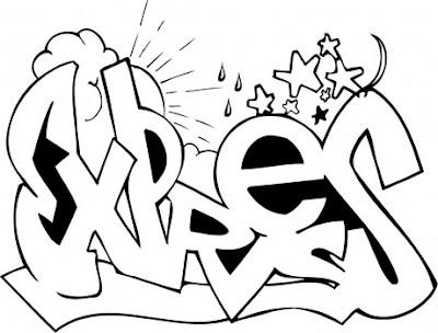 airbrush-stencils-font