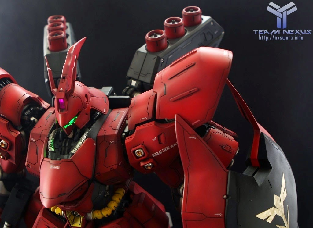 SMS 1 60 Sazabi modeled by HIDEphoto