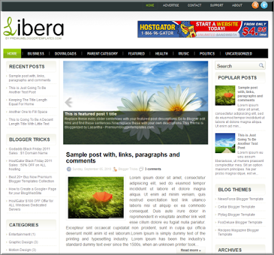 libera blogspot template