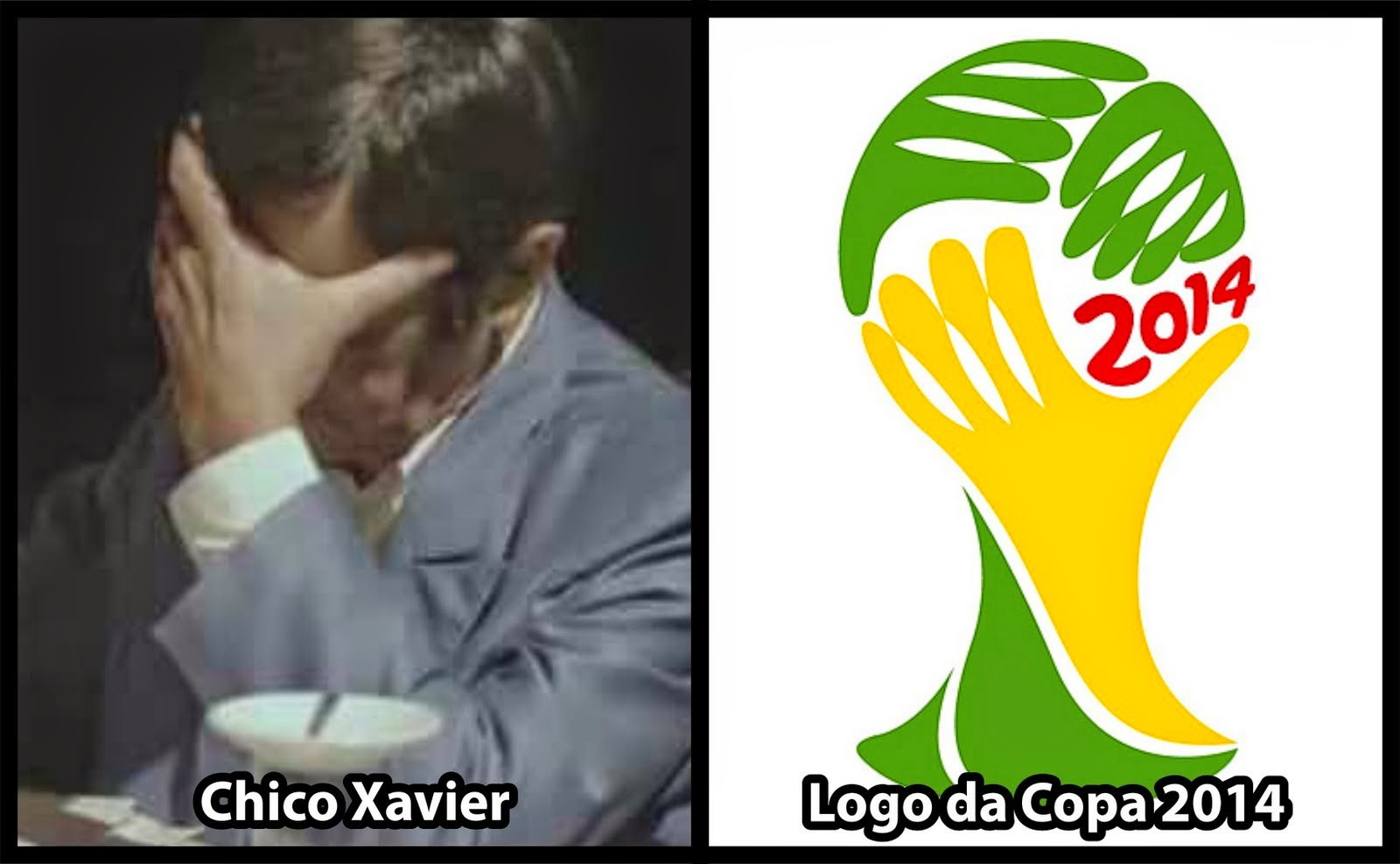 Simbolo da copa do mundo do BRASIL tem raízes da religião espírita.