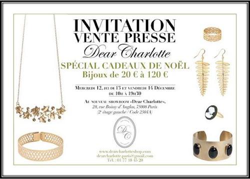 Vente privee Dear Charlotte Noel 2012 12 13 décembre