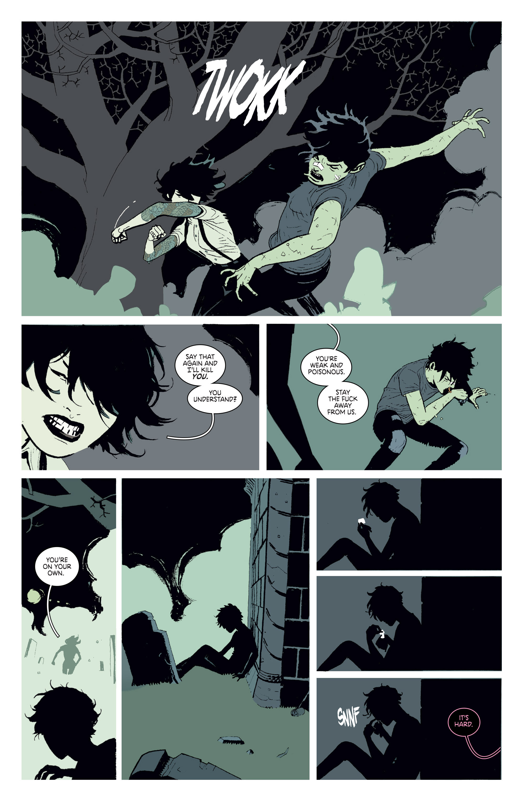 Read online Deadly Class comic -  Issue # _TPB 3 - 77