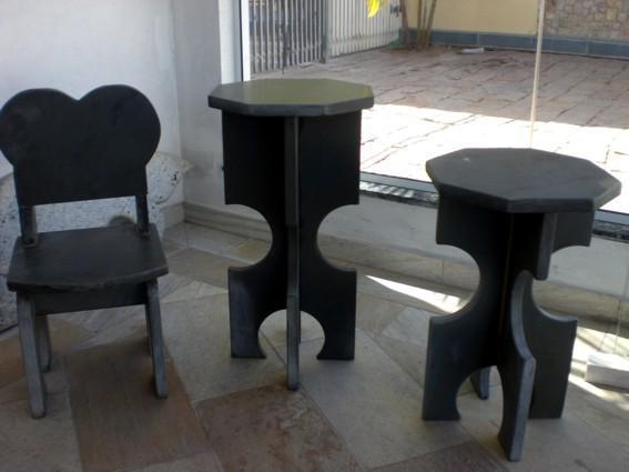 Marmoraria pai filhos bancos fetos de granito s o marcos for Bancos de granito para jardin