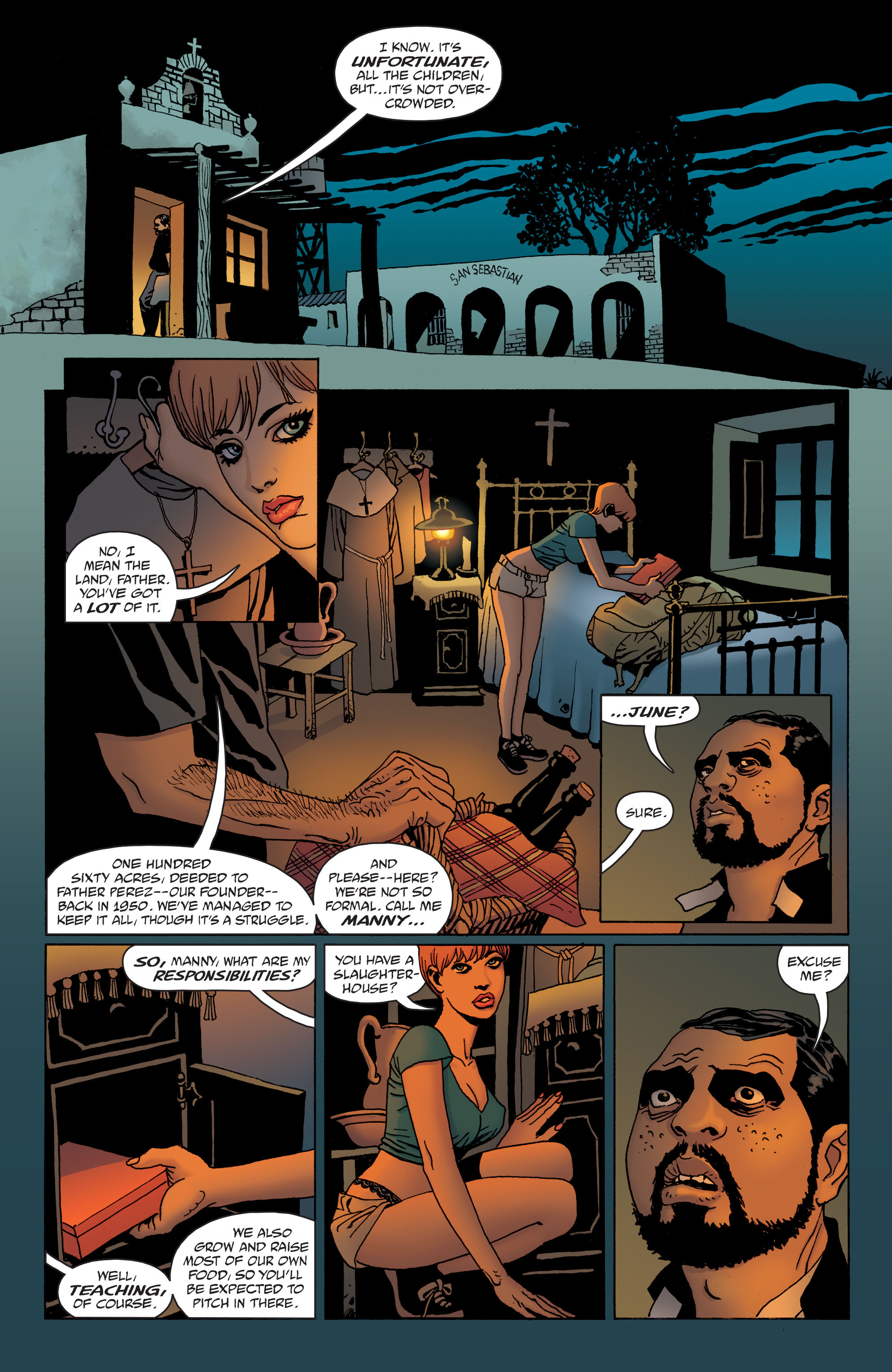 100 Bullets: Brother Lono Full Page 43