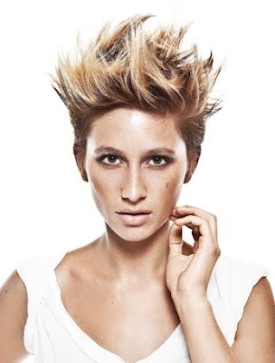 Short Layered Hairstyle Trends 2012
