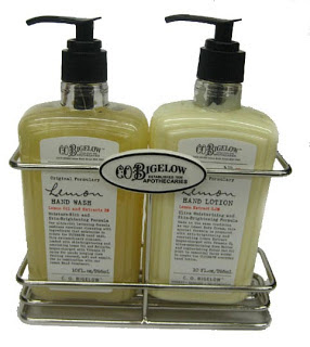 C.O. Bigelow, C.O. Bigelow lemon, C.O. Bigelow Forever Lemon Caddy, C.O. Bigelow hand wash, C.O. Bigelow hand soap, C.O. Bigelow soap, C.O. Bigelow lotion, C.O. Bigelow hand lotion, lotion, hand lotion, hand cream, moisturizer, soap, hand soap, hand wash