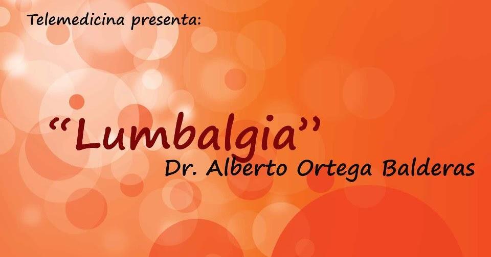 Colegio mexicano de ortopedia y traumatolog a lumbalg a buap for W de porter ortopedia