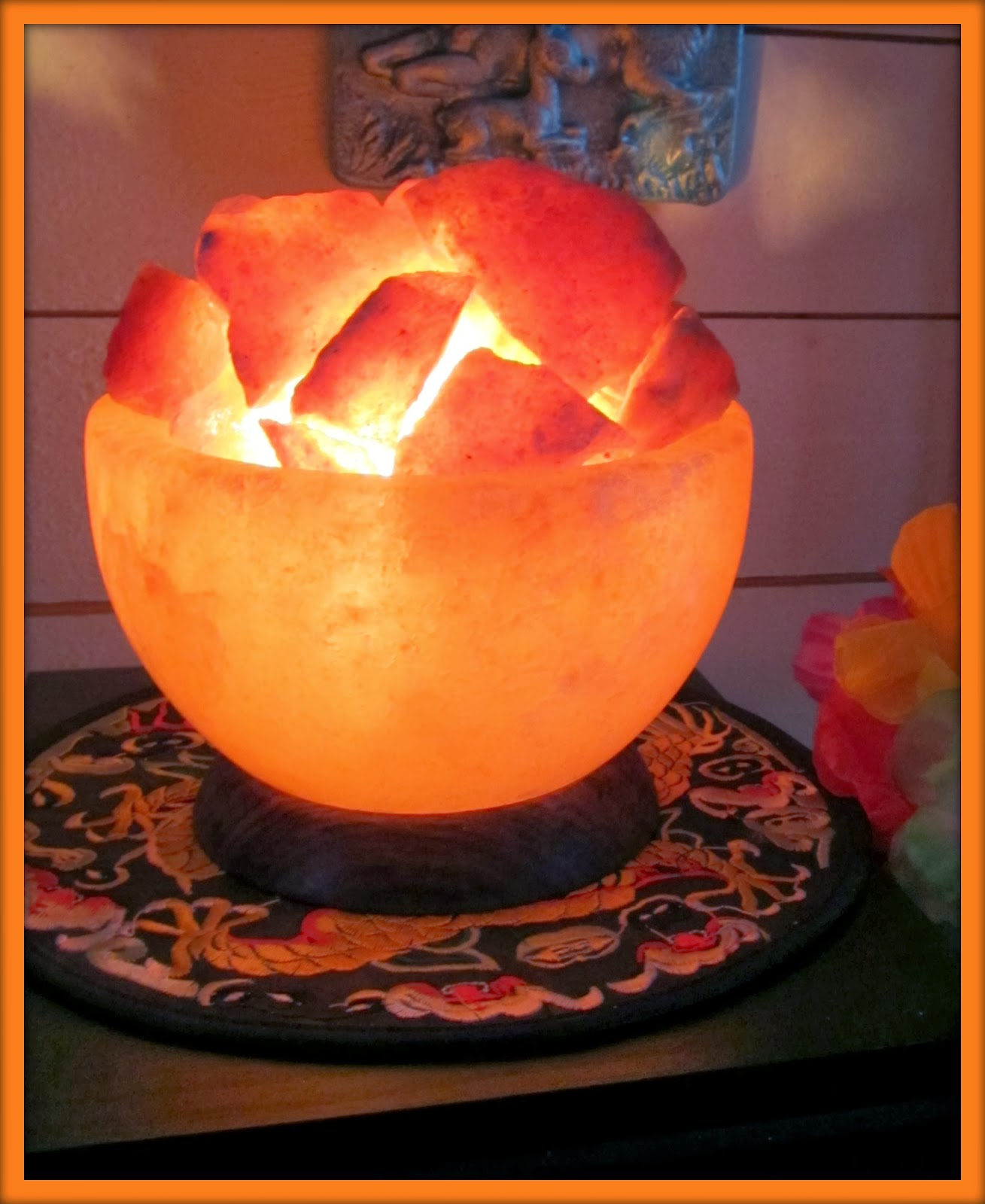 Whimsical JeMa: Saltlampa/Salt Lamp